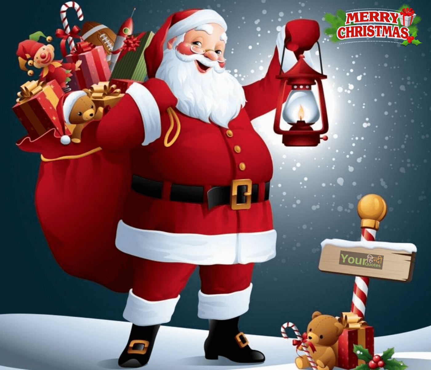 Merry Christmas Wishes in Hindi