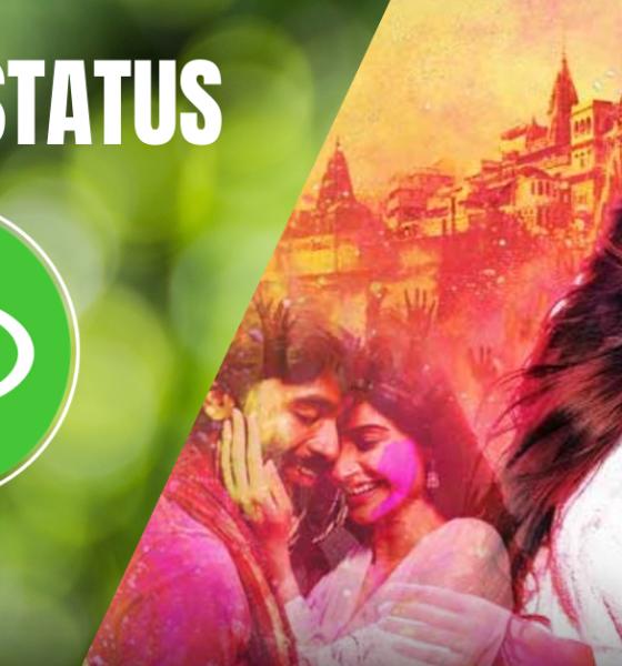 Happy Holi Status Image