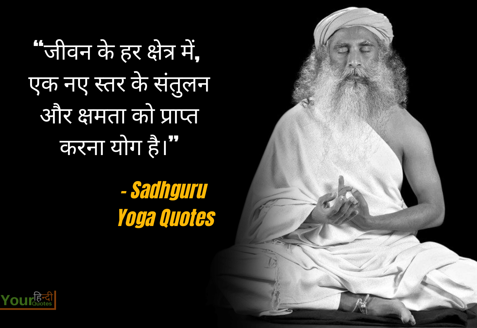 Yoga Quote Hindi Picture