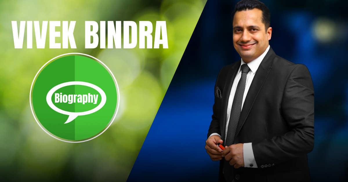Vivek Bindra Biograhy In Hindi