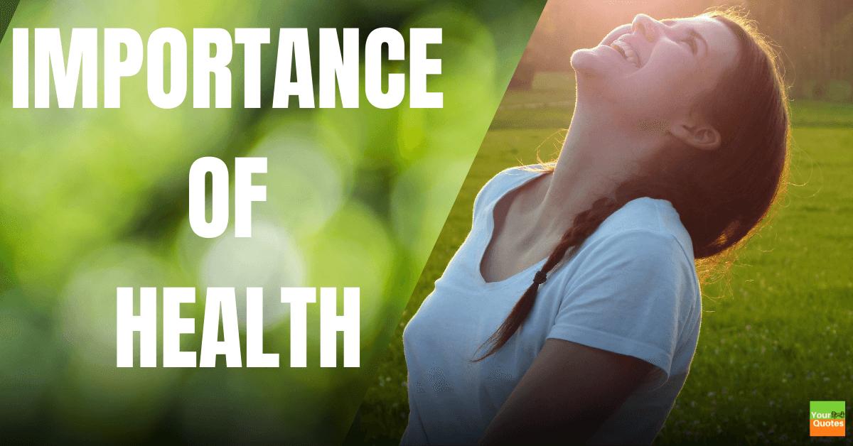 IMPORTANCE OF HEALTH IN HINDI-Health is Wealth Essay In Hindi: स्वास्थ्य ही सच्चा धन पर निबंध हिंदी में....!