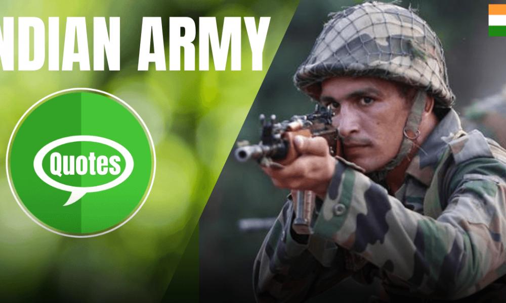 Indian Army Quotes, Status & Shayari In Hindi:
