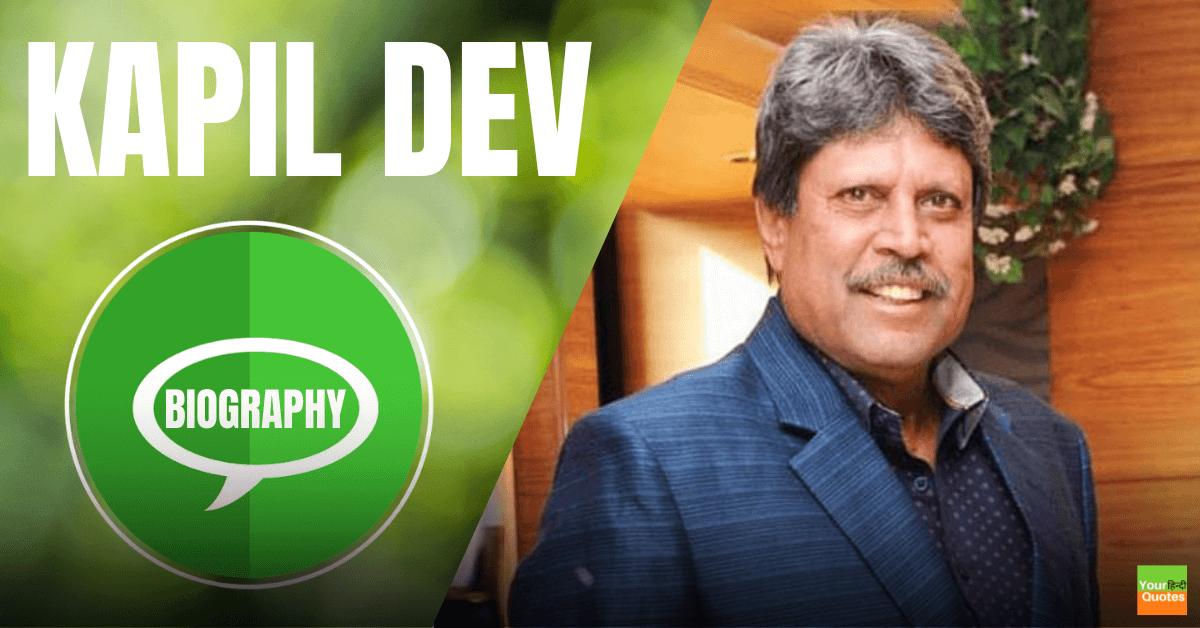 Kapil Dev Biography In Hindi