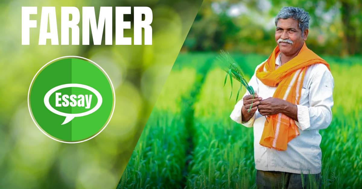 Farmer Essay in Hindi
